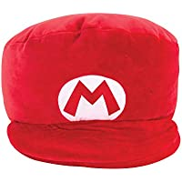 Club Mocchi Mocchi Mario Kart Mario Hat Plush Stuffed Toy