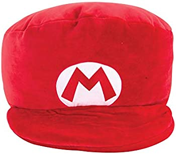 Club Mocchi Mocchi Mario Kart Mario Hat Plush Stuffed Toy