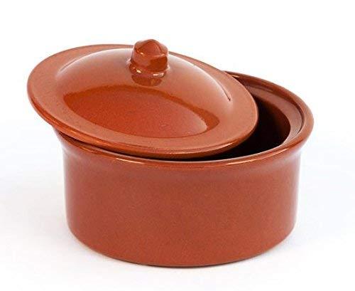 Cocotte en terre cuite Diam. 13 cm – Haut. 6,5 cm