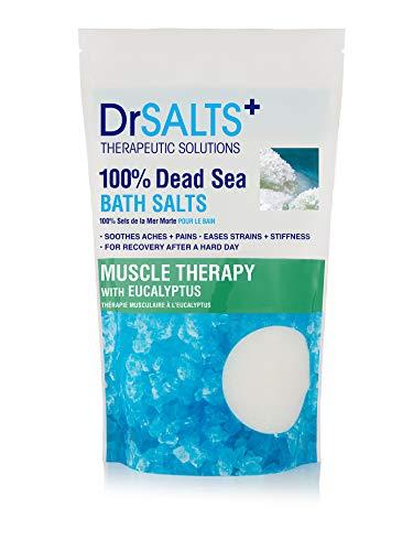 Dr Salts Badsalt från Döda Havet med Eukalyptus, 1 kg