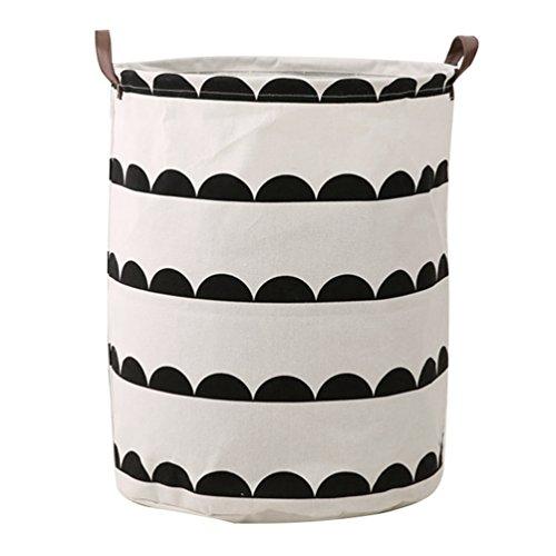 Dooxi Impermeable Plegable Cestos para la Colada Cajas de almacenaje Cestas de Tela para Guardar Organizadoras Juguetes Ropa