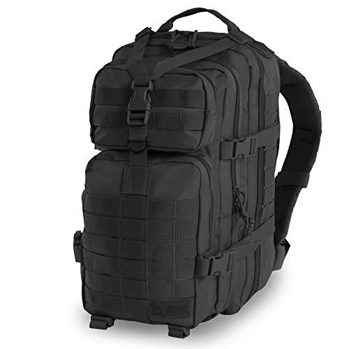 Highland Tactical Men's Vantage Tactical Backpack, Black, One Size