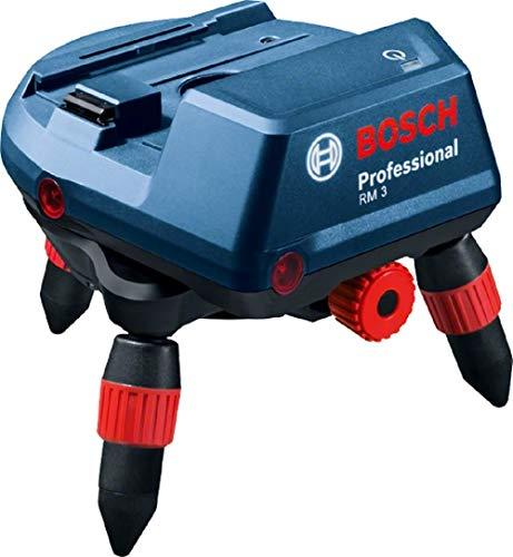Bosch Professional 0601092800 RM 3 Motorgetriebene Halterung mit Bluetooth für GCL 2-50 C/CG inkl. Akkus (RM 3 + RC 2 + Batterien + BM 3 Clip + Adapter), 240 V