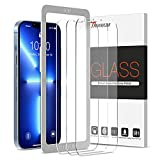 Trianium Screen Protector Compatible for iPhone 13 / iPhone 13 Pro 2021 3 Pack 6.1 inch Tempered Glass 9H Film - HD (w/Alignment Case Tool included)