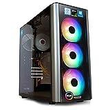 dcl24.de Gaming PC [11283] Intel i7-9700KF 8x3.6 GHz - Z390, 250GB M.2 SSD & 1TB HDD, 16GB DDR4, GTX1660Ti 6GB, WLAN, Windows 10 Pro