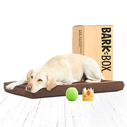 BarkBox Memory Foam Platform Dog Bed | Plush Mattress for Orthopedic Joint Relief | Machine Washable...