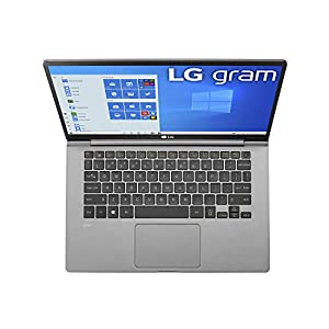 "LG Gram Laptop - 14"" Full HD IPS, Intel 10th Gen Core i5 (10210U CPU), 8GB DDR4 2666MHz RAM, 512GB NVMeTM SSD, Up to 22.5 Hours Battery, Intel UHD Graphics - 14Z995-U.ARS6U1 (2020)"