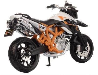 おもちゃ KTM 990 Supermoto R Burago Diecast ダイキャスト Motorcycle Model 1:18 scale スケール Collctibale レプリカ ミニチュア ミニカー 模型 車 飛行機 人形 並行輸入品