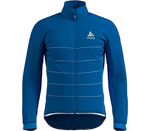 Odlo Zeroweight S-thermic Pro Veste pour Homme L Directoire Blue.