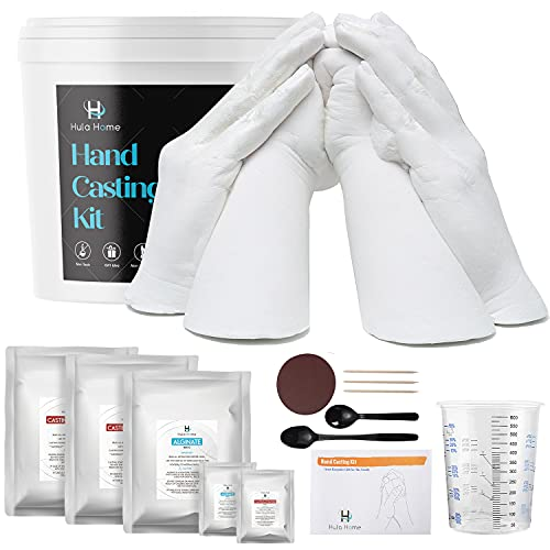XL Hand Casting Kit for Families, Up to 6 Hands (Adults and Children)   Hand...