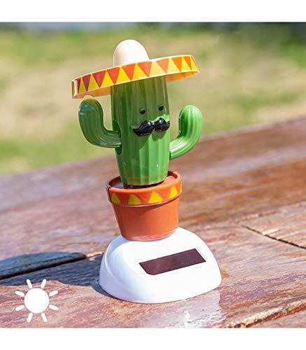 Solarfigur Wackelfigur »Kaktus« Figur beweglich Solarbetrieben 11 cm