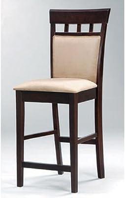 Amazon.com: Muebles de América Rowena polipiel Contador ...