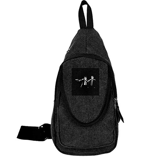 Mob Fiction Traveling Chest Bags Multipurpose Casual Daypack Hiking Shoulder Bag