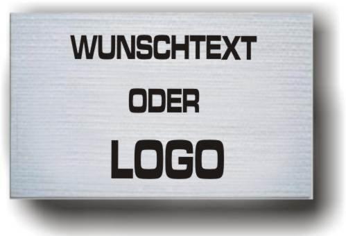 Unbekannt gummielastische Armbinde Bedruckt mit IHREM INDIVIDUELLEM Text (Farbe Weiss)
