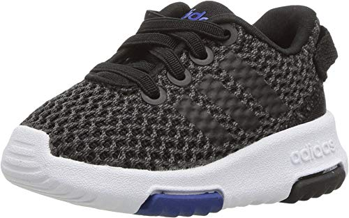 adidas Performance NEO Girls' Racer TR Inf Sneaker,Carbon/Core Black/Collegiate Royal,7.5 M US Toddler