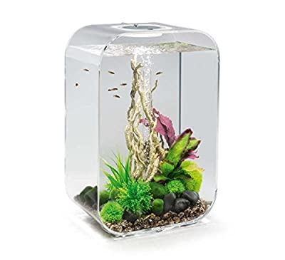 biOrb Life 45 Aquarium with MCR - 12 Gallon, Transparent
