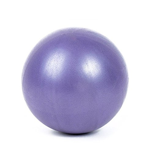 SMARTrich - Palla dimagrante per fitness, yoga, pilates, interni, 25 cm, purple, 1*1*1cm