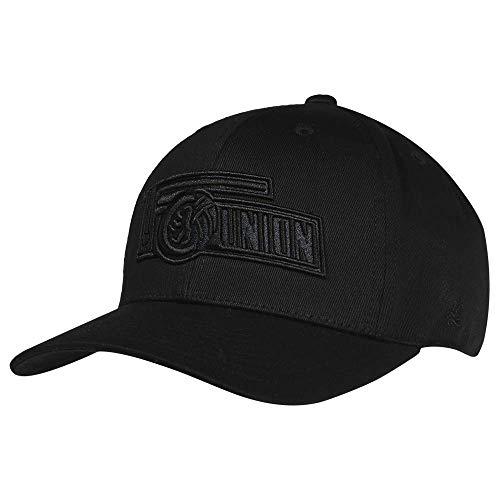 1. FC UNION Berlin Cap, Basecap, Mütze 3D Logo Schwarz