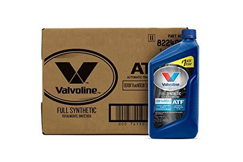 Valvoline DEXRON VI/MERCON LV (ATF) Full Synthetic Automatic Transmission Fluid 1 QT, Case of 6