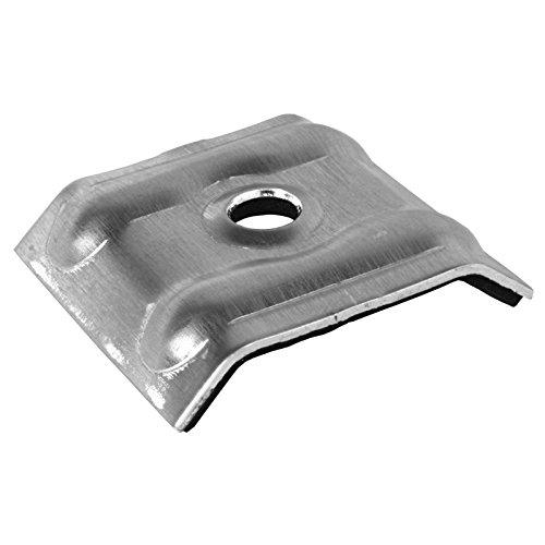 200 Stück Kalotten 26/50 Aluminium blank für Trapezblech 20/1100 Weckman 76/18 Lichtplatten