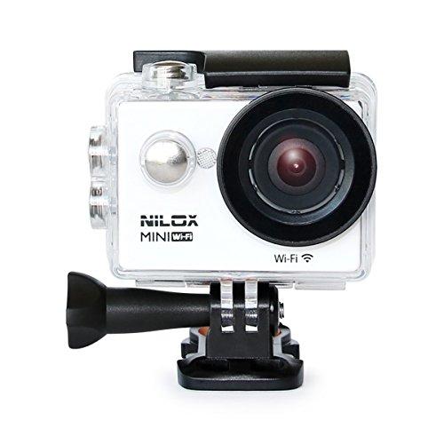 Nilox Mini Action Cam Wi-Fi, Full HD, Bianco