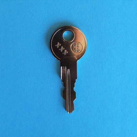 Ersatzschlüssel für Atera Trägersysteme mit einer 3-stelligen Zahl auf dem Schloss. Für Basisträger, Fahrradträger, Dachboxen, Skihalter usw. Schlüssel AT - Code 122
