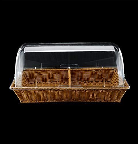 SZQ-Kuchenstand Multifunktionale Kuchen-Haube, Gebäck-Ausstellungsstand-Frucht-Probieren-Behälter-transparente Haube-Nahrungsmittelbewahrungs-Abdeckungs-Küchen-Staubschutz Käseplattenabdeckungen
