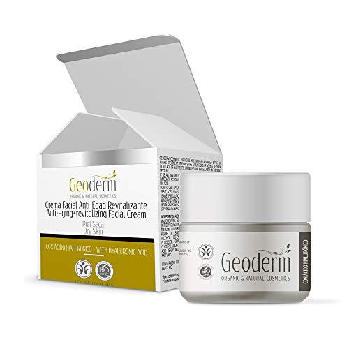 MONTE LA REINA Crema hidratante Antiarrugas facial Antiedad Mujer Con Ácido Hialurónico Puro - 50 ml