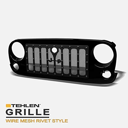 07 jeep wrangler grills - 9