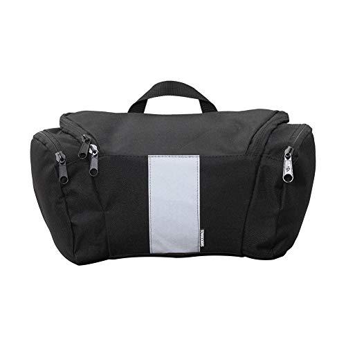 DHYED Bolsa impermeable para manillar de bicicleta, 3 L, para barra frontal, bolsa para manillar de bicicleta, se utiliza como maleta y bandolera, mochila y accesorios para bicicleta