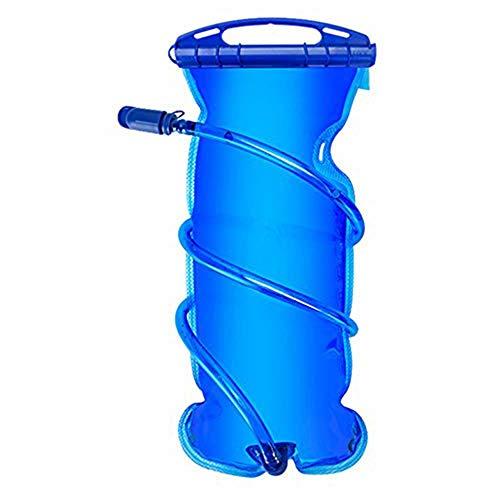 Vejiga de hidratación Molisry, gran apertura a prueba de fugas, deporte no tóxico, fácil de limpiar, depósito de agua transparente (1 L)
