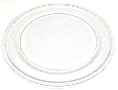 OEM Sharp Microwave Glass Plate Turntable Shipped with R1211, R-1211, R1214, R-1214, R1214F, R-1214F