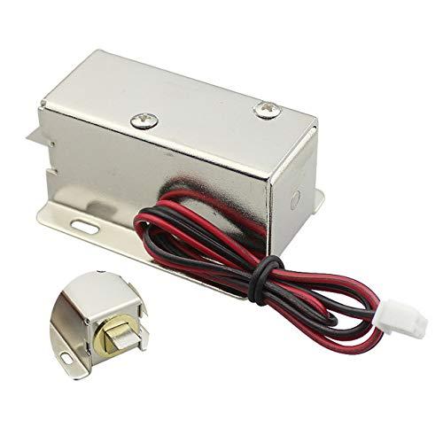 Jiobapiongxin DC 24 V Aktenschrank Schubladenverriegelung Magnet Elektroschloss Fit Für Schreibtisch Schrank Fenster Oder Safe (Splitter) JBP-X
