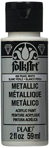 FolkArt K659 Paint Acrylic Metallic Pearl 2OZ, 2 Ounce, Multicolor 2 Fl Oz