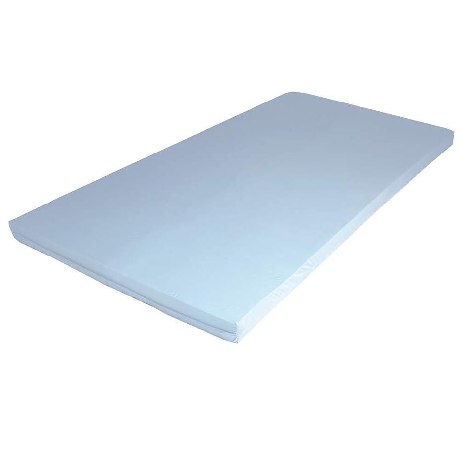 バルーンうまくやる()ビジュアルエイプマンパッド PAD9 高反発マットレス セミダブル 厚み9cm ライトグレー