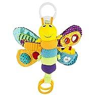 LAMAZE Freddie The Firefly Clip on Pram & Pushchair Newborn Baby & Sensory Toy, Christmas Gift for B...