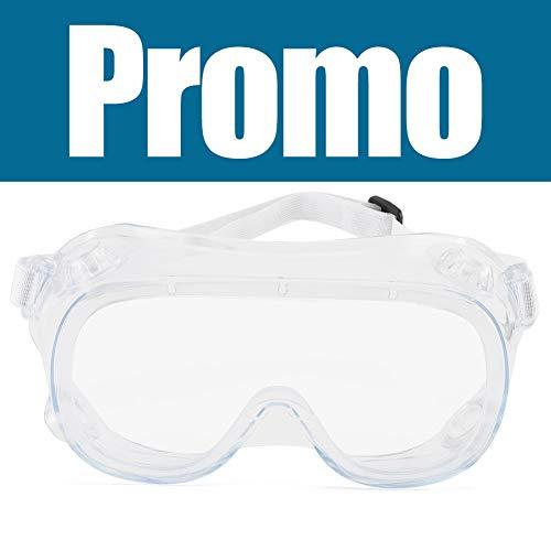 Cyxus Gafas de Seguridad, Gafas de Seguridad Antiniebla con Válvula Respiratoria para Protección Ocular