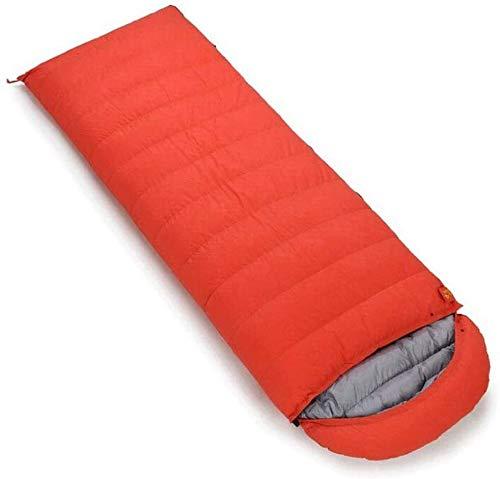 Sac de couchage Camp épissé Double extérieur Sac Portable de Couchage comprimé (capacité: 1,8 kg, Couleur: Orange)