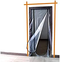 Meister 4170300 stofdichte deur met ritssluiting, 220 x 112 cm.