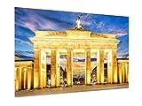 weewado Brandenburger Tor - Berlin 45x30 cm Poster - Kunst,