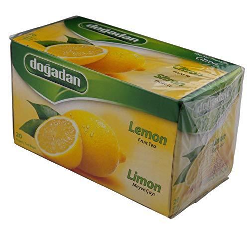 Dogadan - Zitronen Tee - 20 Beutel (netto 40g)