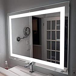 Wall Mounted LED Lighted Bathroom Mirror