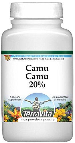 Camu Camu 20% Powder (4 oz, ZIN: 519478) - 3 Pack