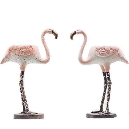 Sun E Flamingo Flamingo Bloemen sappige planten pot cactus plant pot ook voor kaars HolderLovely Flamingo Design Set van 2 met een gat