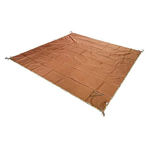 Camping Mat Ultraligero Papelera Huella Impermeable Picnic Playa Manta Camping Tienda de Tienda Aparcamiento Tarpaulina Multifuncional MAX