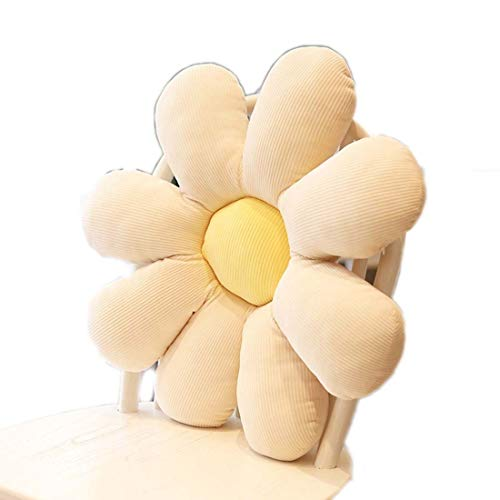 Small Daisy Plush Toy Doll Cat Pet Cushion Pillow Home Bedroom Car Shop Restaurant Bar Decoration Tool Girl Gift Back Cushion Relaxing Cushion Pillow Child Adult Cute Photo Props (1)