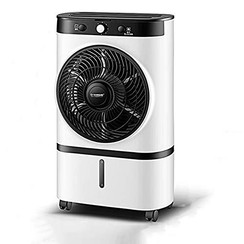 MAZ 220V Tragbare Klimaanlage 7 Liter Tank Befeuchter Mute Klimaanlage Timer Fernbedienung Der Lüfter Kühler + 10 Desktop-Klimaanlage/Weiß