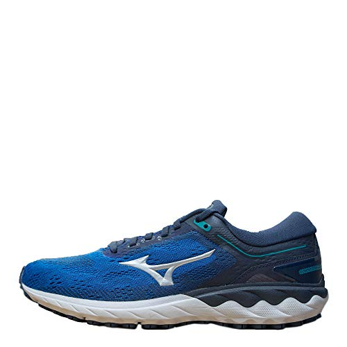 Mizuno J1Gc20090343 - Zapatilla Wave Skyrise - Color: Trueblue/Silver/Navy Blazer Talla: 43 - Hombre