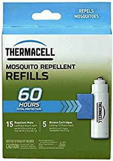 Thermacell Mosquito Repellent Refills, 60-Hour Pack;...