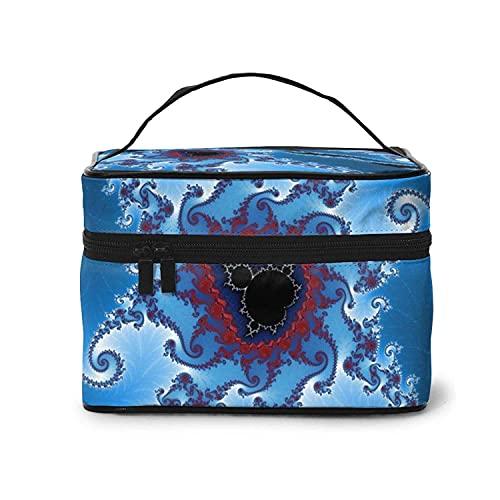 マンデルブロ旅行化粧品袋女性と女の子のための大容量防水オーガナイザー